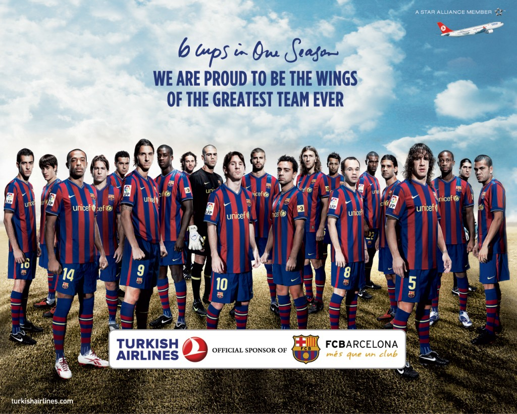 Turkish Airlines, Barcelona